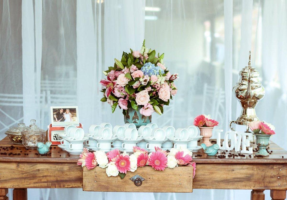 Schöne Vintage Hochzeitsdeko