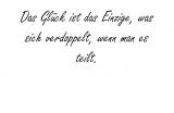 Das Glück ist das – Albert Schweitzer