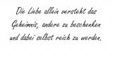 Die Liebe allein – Clemens Brentano