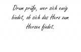 Drum prüfe, wer sich – Friedrich von Schiller