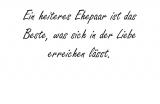 Ein heiteres Ehepaar – Thomas Niederreuther