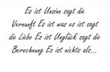 Es ist Unsinn sagt – Erich Fried